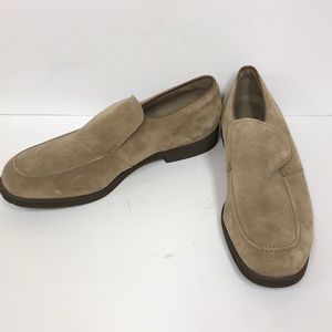 Hush Puppies Men's Suede Leather Loafers Sz 15W